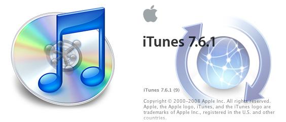 Ya puedes descargar iTunes 7.6.1 para Mac OS X y para Windows 1
