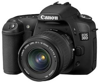 Actualización de Firmware 1.0.6 para cámaras Canon 30D 1