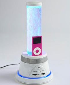 Escucha la música de tu iPod con luces y burbujas 1