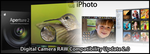 Actualización de compatibilidad RAW versión 2.0 para cámaras digitales 1