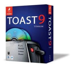 Ya está disponible Roxio Toast 8 Titanium 6