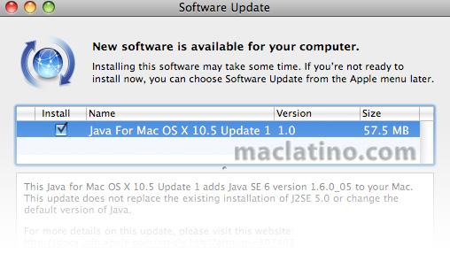 Apple libera actualización para java en Leopard y Snow Leopard 4