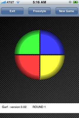 El juego Simon para el iPhone y iPod Touch, ¿ como está tu memoria ? 1