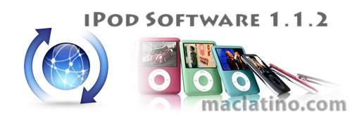 Software 1.1.2 para iPods nano de tercera generación 1