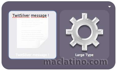 Quicksilver Twitter plugin para publicar en Twitter desde Quicksilver 4