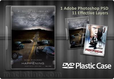Caja de DVD editable en Photoshop 7