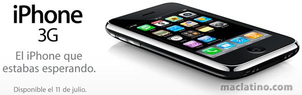 Nuevas características en el iPhone 3G 1