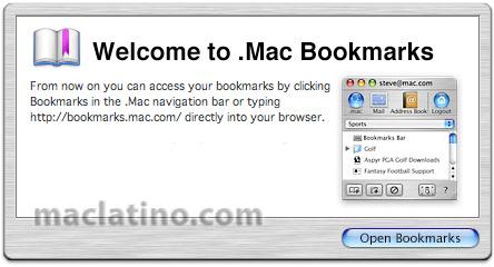 Como se van a actualizar las cuentas de .Mac a Mobile me 5