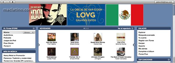 iTunes Store México abre sus puertas el 11 de Julio 1