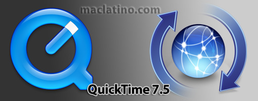 Ya puedes descargar QuickTime 7.5 para Mac OS X y para Windows 1