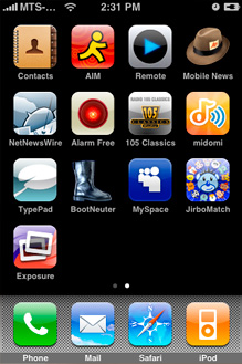 Jailbreak para iPhone 3GS firm. 3.1 disponible 3