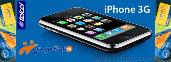 iPhone 3G en Amigo Kit de Telcel y los planes con precios altos 1