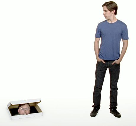 Kevin Costner haciendo comerciales de televisión para publicidad de Apple 1