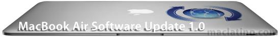 Actualización para MacBook Air versión 1.0 1