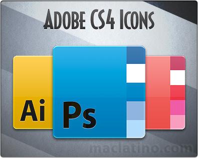 Reemplazo para los iconos de Adobe CS4 1