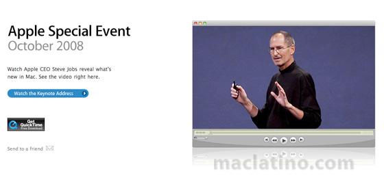 Video y fotos de la WWDC Keynote 3