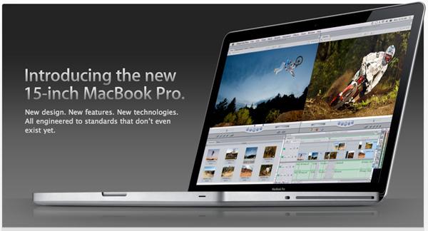 Actualización:  MacBook Pro video 1.0 4