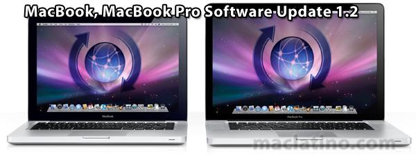 Actualización de software 1.2 para MacBooks y MacBooks Pro con carcasa unibody de precisión de aluminio 1