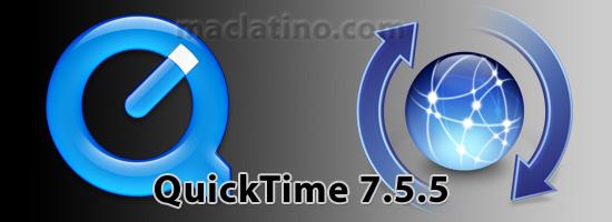 Descarga QuickTime 7.5.5 para Mac OS X y para Windows 1