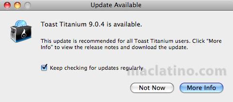 Ganador de la segunda licencia de Toast 9 Titanium 2