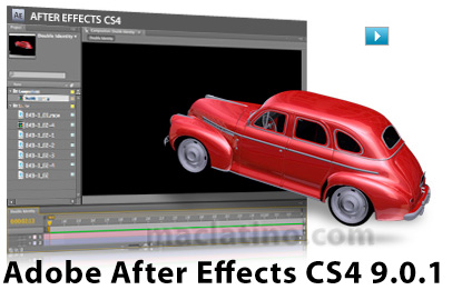Adobe After Effects CS4 9.0.1 disponible 1