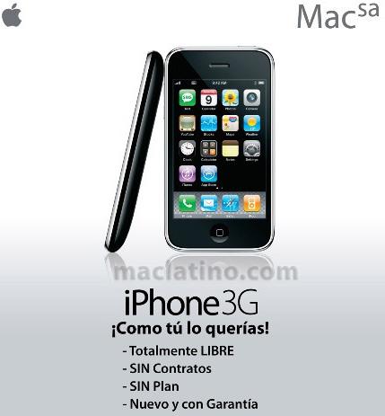 iPhone 3G libre en México 9