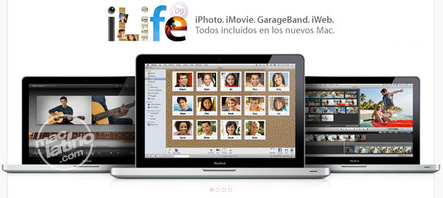 iLife support 9.0.1 para Aperture, iLife '09 y iWork '09 4