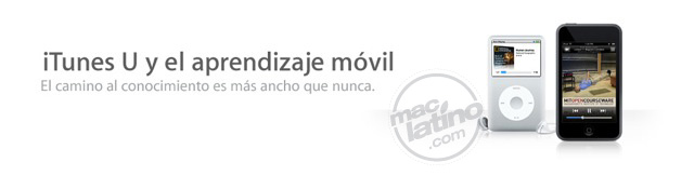 iTunes U llega a España 9