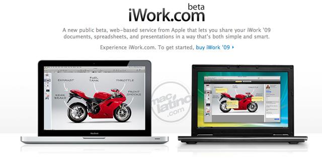 iWork.com abre sus puertas 1