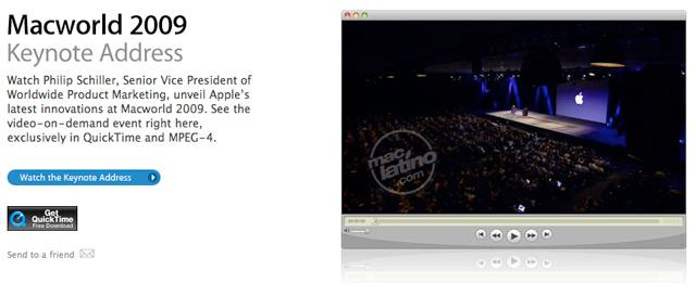 iWork '09 puede ser presentado en la Macworld 2009 4