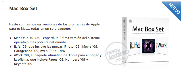 iWork '09 puede ser presentado en la Macworld 2009 8