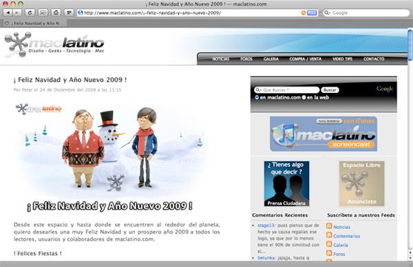 Noticias maclatino.com versión 3.0 1