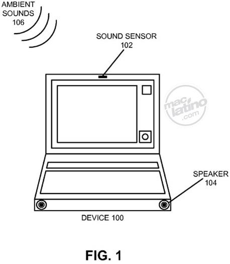 Apple patenta lo que podría ser el ajuste automático de volumen en iPhone o MacBooks 1