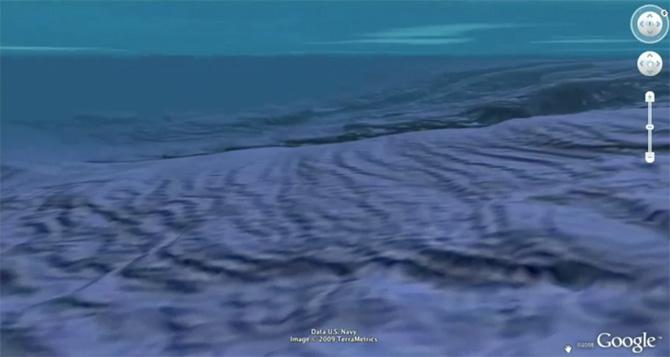 Nuevo Google Earth 5 beta  ¡Explora los fondos Marítimos!