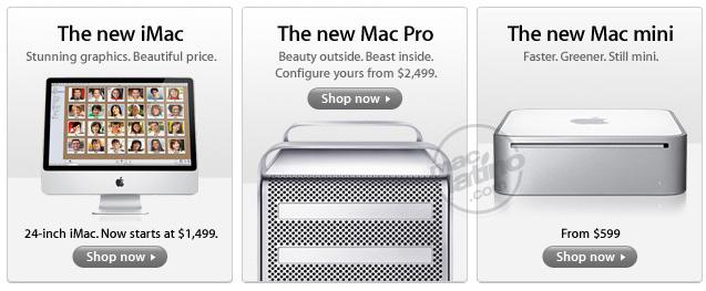 Nuevos productos Apple, Mac Pro, Mac mini e iMac 1
