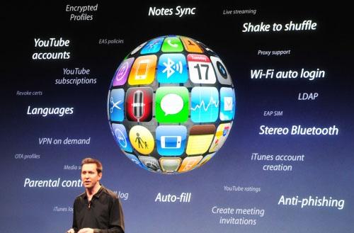 Todas las novedades de la próxima actualización 3.0 para iPhone  1