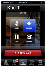 Skype para iPhone mañana 1