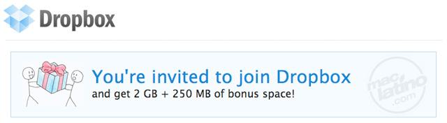¿Quieres conseguir más megas de almacenamiento en Dropbox? 5