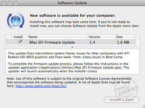 Power Mac G5 firmware update 2