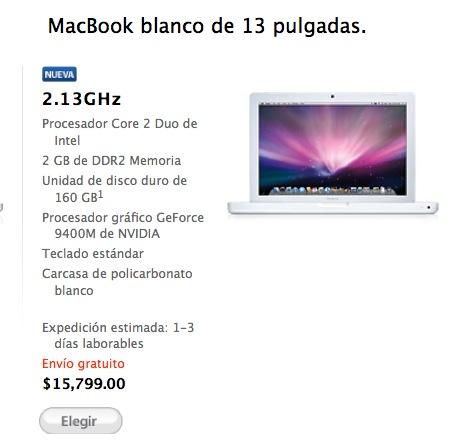 Actualización para MacBook o MacBook Pro con Leopard que Resuelve Las Fallas del Teclado 2