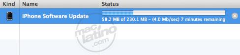 Proceso de instalación del software 3.0 para el iPhone 7