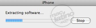 Proceso de instalación del software 3.0 para el iPhone 8