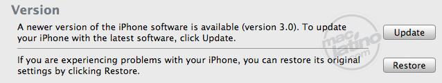 Proceso de instalación del software 3.0 para el iPhone 11