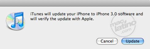 Proceso de instalación del software 3.0 para el iPhone 12