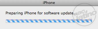 Proceso de instalación del software 3.0 para el iPhone 16