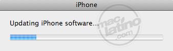 Proceso de instalación del software 3.0 para el iPhone 18