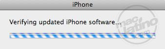 Proceso de instalación del software 3.0 para el iPhone 19