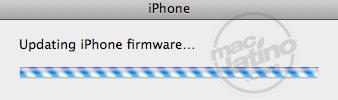 Proceso de instalación del software 3.0 para el iPhone 20