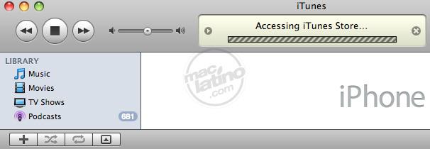Proceso de instalación del software 3.0 para el iPhone 24