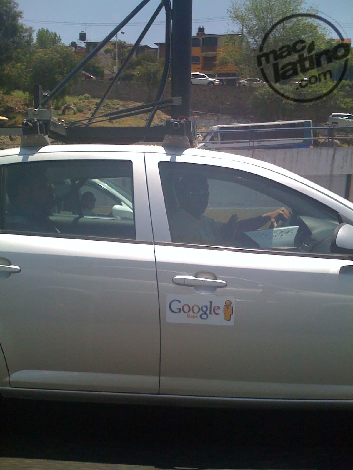 Google Car visto en México